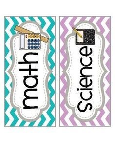 Classroom Subject Labels_Chevron And you can request a free blank template for other subjects, recess/lunch, etc. Classroom Labels, Classroom Organisation, Teacher Organization, Teacher Tools, Future Classroom, School Classroom, Classroom Themes, Classroom Management, Classroom Schedule