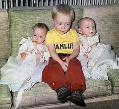 SOESTDIJK - Kinderen van prinses Irene en Carlos Hugo op de bank in Paleis Soestdijk.