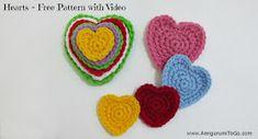 Video Many Hearts One Pattern ~ Amigurumi To Go
