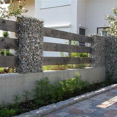 Great way to build fence!