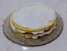 Torta Pompadour de plátano | En Mi Cocina Hoy Torta Pompadour, Banana, Breakfast, Food, Combover, Medium, Cake Recipes, Biscuits, Banana Bars