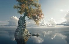His Kingdom, Thomas Feiner on ArtStation at https://www.artstation.com/artwork/KBPZo