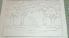 Star gazey family sketch.