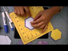 """3"""" Hexagon Patchwork Demonstration by Jackie Wills - slow version - YouTube"""