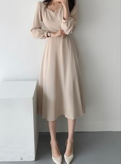 Korean Girl Fashion, Ulzzang Fashion, Kpop Fashion Outfits, Edgy Outfits, Modest Outfits, Classy Outfits, Modest Fashion, Look Fashion, Pretty Outfits
