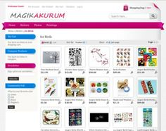 Magik Akurum is a Magento theme specifically built for stores that are selling different types of Stickers for cars, laptops, birds, walls, Photos for baby & dolls, Wall paintings and any other related products online.