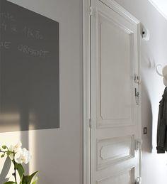 Peinture de porte d 39 entr e sur pinterest couleurs de for Peinture porte interieure castorama