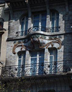 Hôtel Ceramic, 34 avenue de Wagram, Paris VIIIè, Jules Lavirotte, 1904