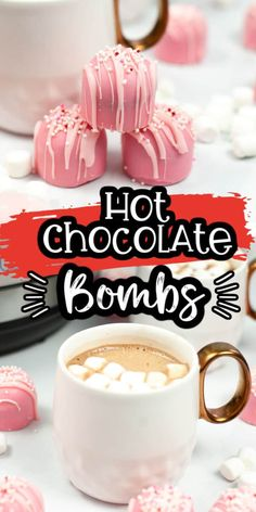 Chocolate Candy Melts, Hot Chocolate Bars, Hot Chocolate Mix, Valentines Day Chocolates, Valentine Chocolate, Flan, Bombe Recipe, Chocolate Powder, Quick Easy Desserts
