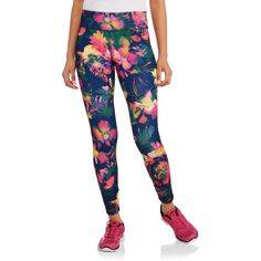 Energie Juniors' Active Printed Leggings, Size: Small, Multicolor