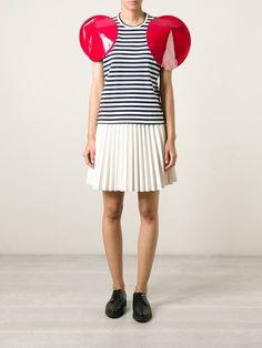 Junya Watanabe Comme Des Garçons Oversized Round Sleeves T-shirt - Smets - Farfetch.com