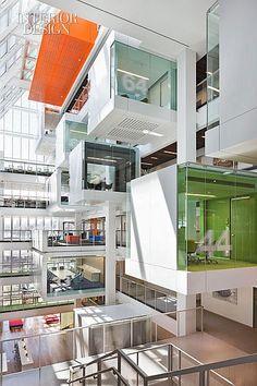Big Mac: Clive Wilkinson Designs Macquarie Group's Massive Headquarters | Projects | Interior Design