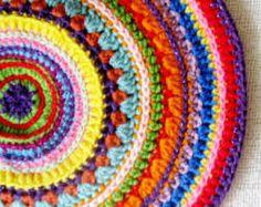 mandalas crochet - Buscar con Google