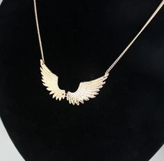 $6.76 - Wing Necklaces (Buy this item for FREE SHIPPING) Angel Wing Necklace, Necklace Types, Chain Pendants, Angel Wings, Necklace Designs, Types Of Metal, Necklaces, Free Shipping, Stuff To Buy