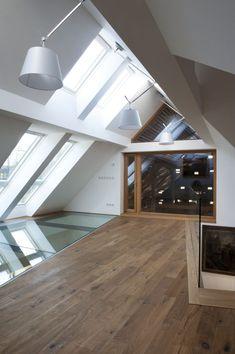 Klikněte pro zavření obrázku, klikněte a držte pro přesunutí, použijte šipkové klávesy pro další nebo předchozí fotografii. Stairs, Loft, Bed, Furniture, Home Decor, Architects, Archive, Stairway, Decoration Home