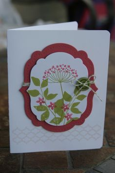Summer Silhouettes Card