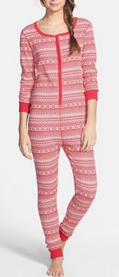 Darling fair isle thermal jumpsuit - 50% off! http://rstyle.me/n/ux2gznyg6