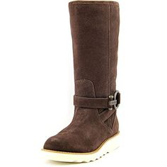 Coach Womens Virtue Suede BootChocolate75 M US -- Details can be found by clicking on the image.(This is an Amazon affiliate link)