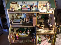 """""""More pictures of my latest project Sylvanian Families, Twitter, Projects, Pictures, Home Decor, Playmobil, Log Projects, Photos, Interior Design"""