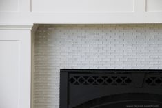 i've always wanted to redo my fireplace tile...@Aaron Kapor Cantrell, here is a tutorial