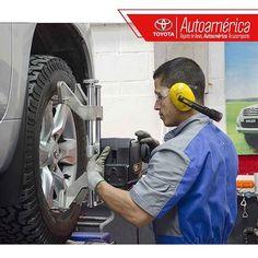 Realizando el mantenimiento periódico de tu #Toyota cada 5.000 kilómetros…