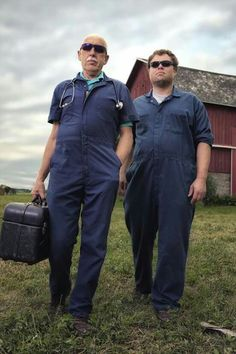 Blues Brothers?  Dr. Pol & Charles