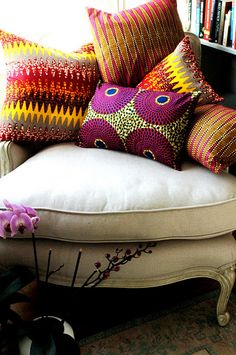 pillows by SisterBATIK