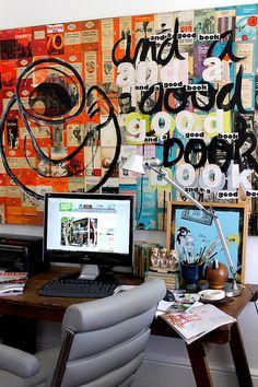 Im sooo inl♥ve !!!  Office by midcenturyjo, via Flickr