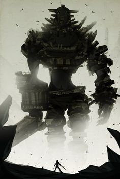 Shadow of the Colossus by *ChasingArtwork on deviantART