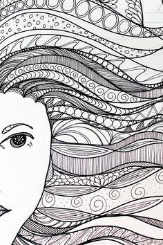 tangerine-life | Zentangle Art