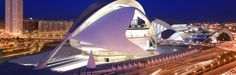 Valencia is a beautiful old city located on the Spanish Mediterranean coast. Valencia is the third largest city in Spain. Santiago Calatrava, World Trade Center, Zaha Hadid, Valencia City, Science Museum, Top Hotels, Old City, Under Construction, Modern Architecture