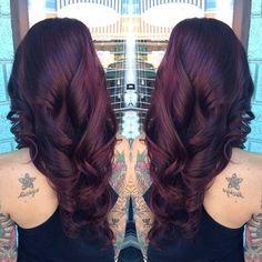 Dark Red Hair Color-koyu kırmızı ve kızıl saç renkleri (33)
