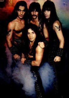 Manowar - the early days Best Heavy Metal Bands, Heavy Metal Music, Manowar Band, Hard Rock, Hair Metal Bands, Battle Jacket, Power Metal, Judas Priest, Music Photo