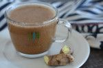 Before I knew better, I used to drink (almost daily – egad!) soy-milk tea-based lattes from a popular coffee house. Now that I know better, I haven't had one of those soy drinks in a couple of years, but I still get excited by anything masala chai flavoured, especially when those spicy notes meld delightfully…