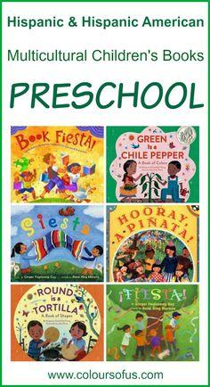 Hispanic Multicultural Children's Books - Preschool; Diverse Picture  Books featuring Latino/Hispanic/Hispanic American children. Ages 3 to 5. #Hispanic #kidlit #HispanicHeritageMonth #HispanicHeritage #HHM #preschool