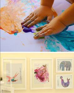 5-pretty-ways-to-display-kids-art