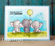 Diary of an Inky Girl…: Adorable Elephants - Birdie Brown - My Favorite Things