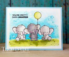 Diary of an Inky Girl…: Adorable Elephants - Birdie Brown - My Favorite Things