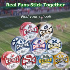 We just added some new College Duck Tapes! We've got Ohio State, Notre Dame, Michigan, and many more! Find your school