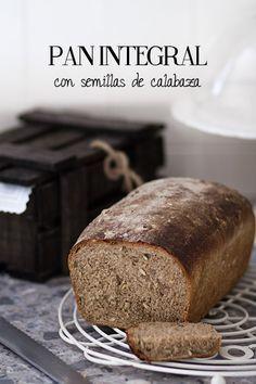 Receta de pan integral casero
