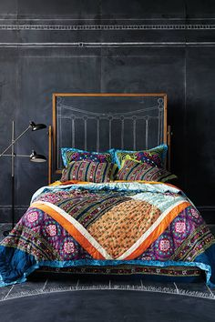 Wildfield Quilt #AnthroFave #anthropologie