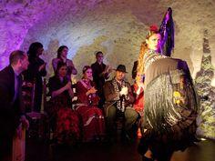 Noche flamenca en el Templo del Flamenco. #Flamenco #Granada