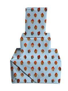 Bill Murray Dot Wrapping Paper @britt_kett