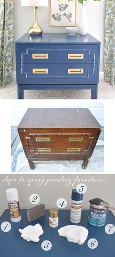 Repaint Furniture with  Little Box