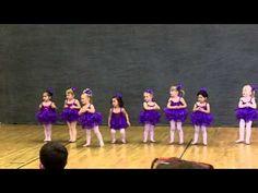 Sofia Dancing to Baby Beluga (Toddler Ballet) - YouTube