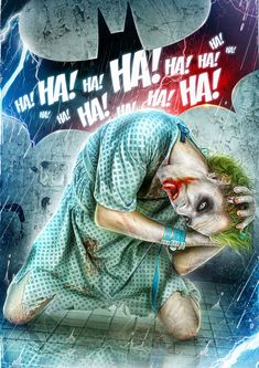 The Joker Digital Art created by Hitesh Sharma https://www.behance.net/gallery/28193113/THE-JOKER