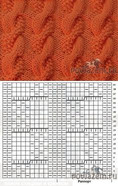 УЗОРЫ СПИЦАМИ - knitting for beginners knitting ideas knitting patterns knitting projects knitting sweater Cable Knitting, Knitting Charts, Knitting Stitches, Knitting Needles, Free Knitting, Knitting Socks, Easy Knitting Projects, Knitting For Beginners, Knitting Designs