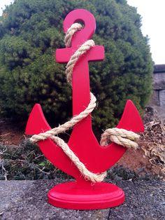 Custom Anchor Wedding Centerpiece Nautical by FromTheCoast2TheCity