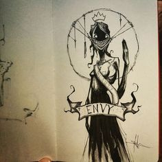 The 7 Deadly Sins Illustrated by Shawn Coss