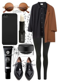 """""""081015"""" by patttiee ❤ liked on Polyvore featuring Jeffrey Campbell, Topshop, Base Range, Zara, Koh Gen Do, Incase, MAC Cosmetics and Lord & Berry"""